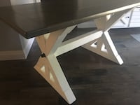 Farmhouse Style Kitchen Dining Table