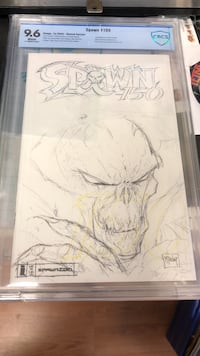 Spawn 150 sketch comic Sebring, 33870