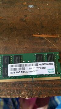16gb ddr4 laptop ram stick Grand Prairie, 75050