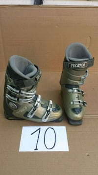black-and-brown Tecnica ski boots L'Île-Perrot, J7V 6X2