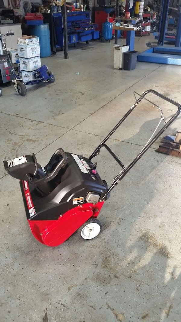 Garage Sales Joliet Il: Used Yard Machine 21 Inch Snow Blower Works Great For Sale