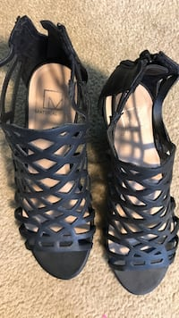 Material girl dress shoes - size 6.  Worn once!