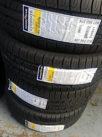 New Goodyear 215/60/16 $380 includes installation & balancing no tax if paid cash 2257 mi