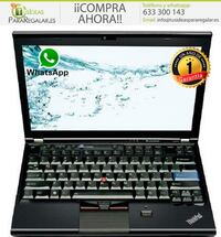 Portátil Lenovo X220, 8Gb, Cam, i5, Windows 10 Gratis Madrid