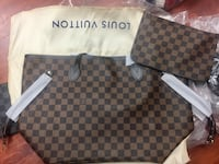 LOUIS VUITTON NEVER FULL TOTE BACK LARGE SIZE WITH POUCH Toronto, M1S 3A6