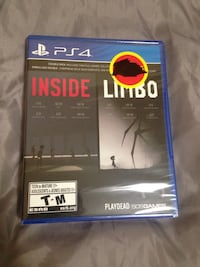PS4 Sealed Inside/Limbo Mississauga, L4X