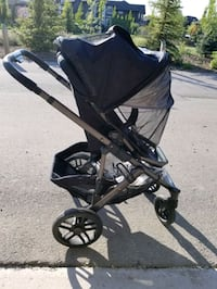 Uppababy Vista 2014 with bassinet Calgary, T2P
