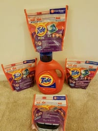 Tide 100 oz detergent and 80 pods - $30 firm 29 km