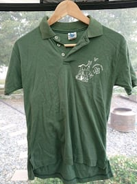 green v-neck shirt Nanaimo, V9R 1S4