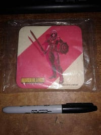 Borderlands Handsome Collection : COASTERS SEALED SET OF 6 (double-sided)