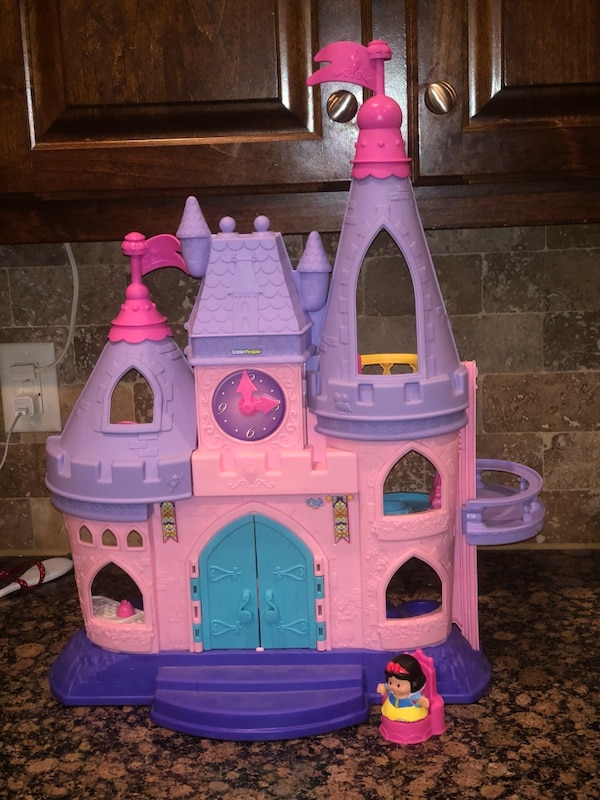 Used Little People Fisher Price Princess Castle Dollhouse For Sale In