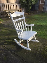Solid Wood Rocking Chair Coquitlam