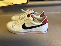 PreOwned Nike Men's 8.5 Sweet Classic Leather White Royal Kunia, 96797