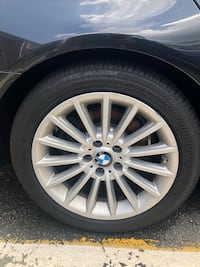 F10 bmw rims with run fiat tires new  Old Bridge, 08857