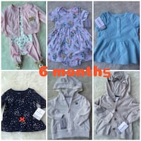 Brand new carters baby clothes 6 months Toronto, M5J 2Y4