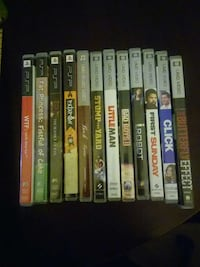 PSP Movies and games