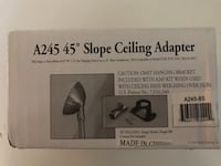 45 degree Slope ceiling adapter Columbia