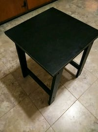 Black Side Table Bowie