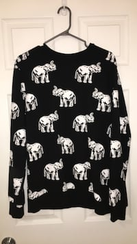 elephant print shirt London, N6K 4X8