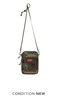 Supreme Camo utility pouch. (DS) can meet downtown. Calgary, T3H 0M7