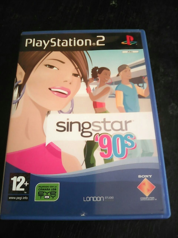 PS2 sing star 90s