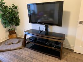 Excellent quality TV stand with or without plasma TV