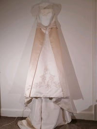 Bridal gown size 10