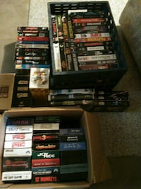 Approx 70 VCR tapes
