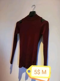 red long-sleeved dress 804 km
