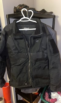 Tactical police used motorcycle riding jacket sz Large +