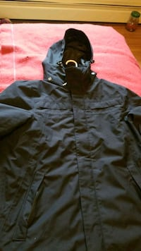 killtec parka jacket mens size small