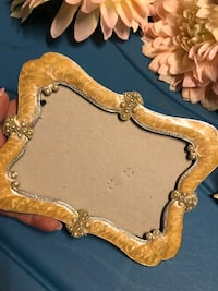 Vintage jewelled picture frame - no glass Toronto, M9W 0C6