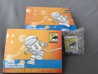 NEW! SDCC 2018 Comic-Con Collectors Pin and Swag Box with Booklet Whittier, 90605