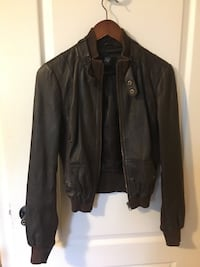 Guess leather jacket size s Toronto, M9W 4M1