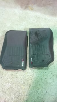 Jeep Wrangler weather tech mats floor just driver & passenger
