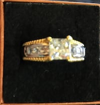 EXQUISITE RING IN SZ 7, 3.0 cttw CZ Sparks, 89441