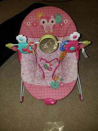 Baby bouncer the vibrates