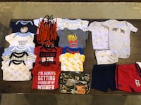 Baby boy clothing bundle 0-3 month