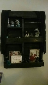 black wooden wall rack PRICE DROP Lancaster, 17601