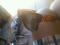 black and brown framed sunglasses Walhalla, 29691