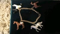 gold-colored chain necklace Chico
