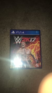 Sony PS4 WWE 2K17 game case Shenandoah Junction, 25442
