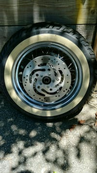 Wheel, tire and rotors. Text,,  [PHONE NUMBER HIDDEN]  if int