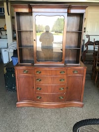 Wooden china cabinet  Huntley, 60142