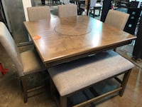 Dining table and chairs set new  Pineville, 28134