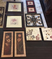 assorted-color flower painting lot Calgary, T1Y 1X7