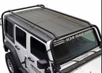 Jeep roof rack (kargo master) will fit 2007 or newer 2 or 4 door Jeep Wrangler uninstalled (new in box-ordered incorrectly and it didn't fit our 2006 Jeep) original price $850 (its 2 or 4 door we have the side extensions for each) Walkersville, 21793