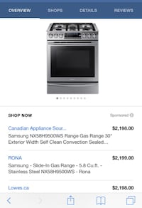 black and gray gas range oven screenshot Aurora