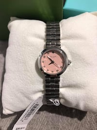 Kate Spade Gramercy Pink Dial Stainless Steel Ladies Watch Markham, L3P