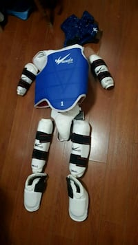 Size 1 small sparring gear